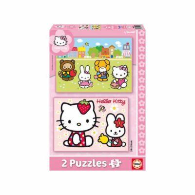 Educa Puzzle Hello Kitty, dva motivy, 20 dílků