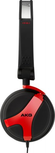 Slúchadlá AKG K518 DJ červená