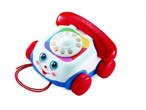 Mattel Fisher Price FP Tahací telefon