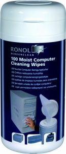 RONOL Zvlhčené čistiace utierky na plasty 100ks 10012 cena od 0,00 €