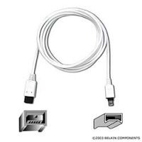 Belkin kábel IEEE1394 FireWire® (9pin/4pin), Retail (Šedý) 1,8m F3N403cp1.8M