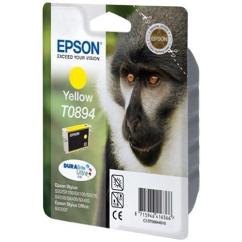 Atrament Epson S20/SX105/SX205/SX405/BX300F yellow C13T08944021 cena od 0,00 €