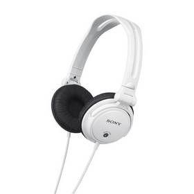 Sluchátka Sony MDR-V150, bílá