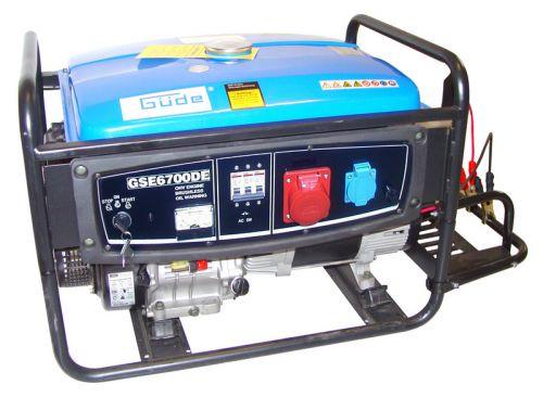 Güde GSE 6700 s elektroštartom