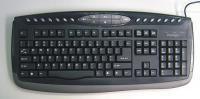 Prestigio multimediálna klávesnica, USB, čierna, SK PKB03SK