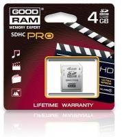 Goodram 4GB SDHC 4 GB SDHC Class 6 Retail 9 cena od 0,00 €
