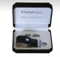 4 GB . USB kľúč . Prestigio Black Map Leather, čierna koža, blister PLDF4096MAPBLACK cena od 0,00 €