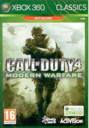 Activision Call of Duty Modern Warfare pro XBOX 360