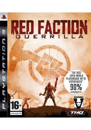 THQ červený Faction Guerrilla, , hra pro Playstation 3, CZ titulky, akční, DVD