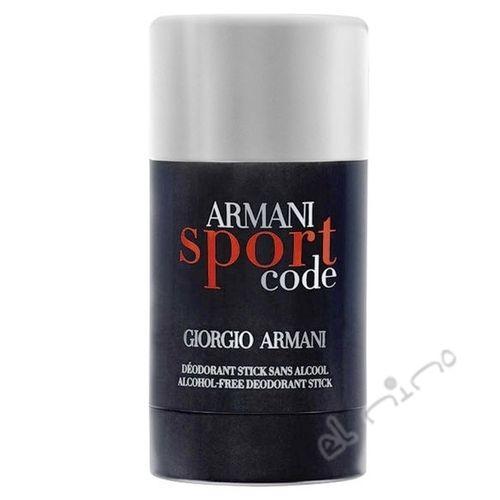 Armani Code Sport - tuhý deodorant 75 ml