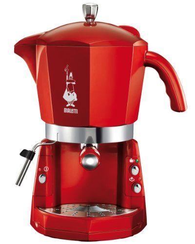 Kávovar Bialetti Mokona červený