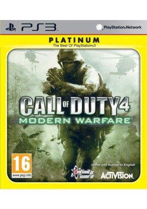 Activision PS3 Call of Duty 4 (Modern Warfare) Platinum