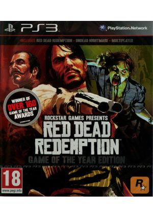 Cenega Red Dead Redemption (Game of the Year) PS3 cena od 0,00 €