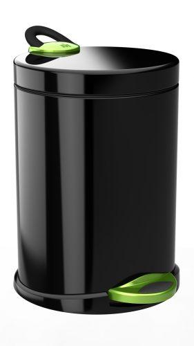 Meliconi Odpadkový koš Opera de-luxe 14 l, bl&gr
