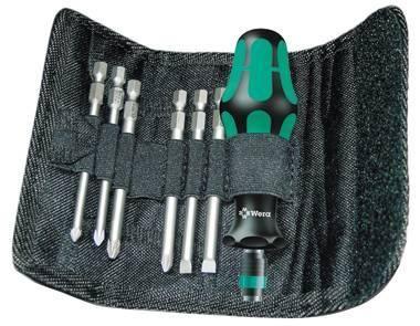 Sada skrutkovačov WERA Kraftform Kompakt 40, 7 dielov, taška (059298)