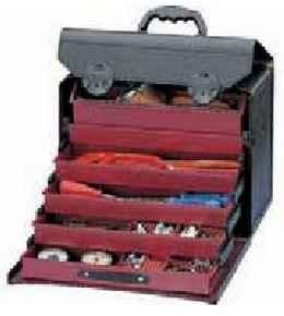 Taška na náradie PARAT TOP-LINE, 5x zásuvka, koža (44.000-581)