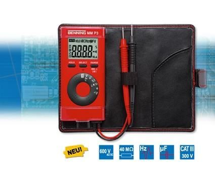Digitálny vreckový multimeter BENNING MM P3 (044084)