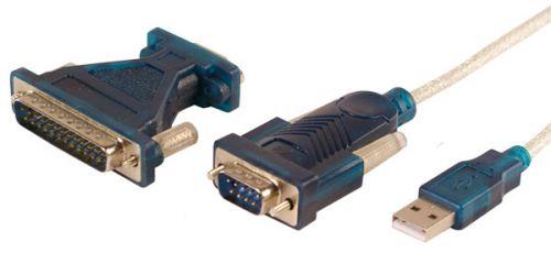 . Adaptér USB - COM 9pin i 25 pin cena od 0,00 €