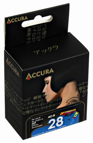 Accura alternatívny atrament HP No. 28 (C8728AE) 19 ml 100 % NEW cena od 0,00 €