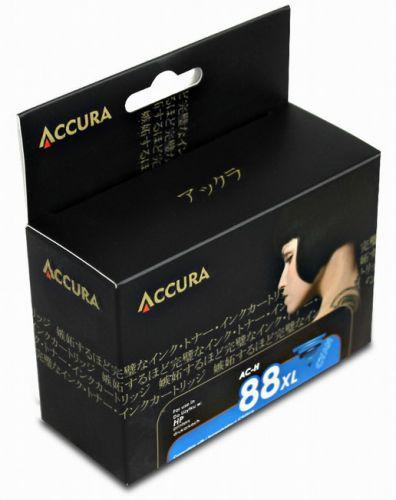 Accura alternativní inkoust HP No.88 (C9391A), cyan, 17 ml, 100 % NEW cena od 0,00 €