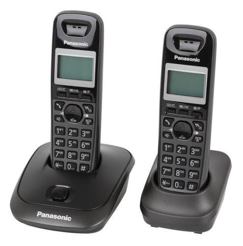 Telefón Panasonic KX-TG2512PDT Duo titánový