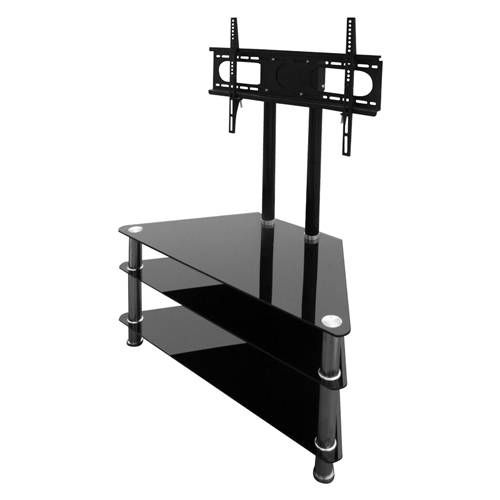 "4World Stolik RTV 3 półki z uchwytem LCD / PLASMA 26""- 37"" udźwig 56kg cena od 0,00 €"