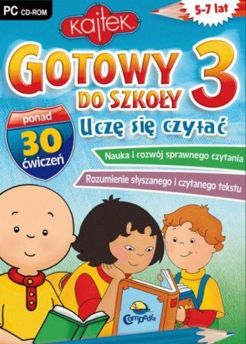 . Gotowy do Szkoły 3 Uczę się czytać (PC) Avalon cena od 0,00 €