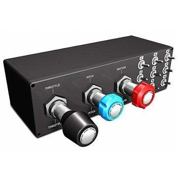 SAITEK Palubná doska Pro Flight Throttle/Prop/Mixture Axis pre letecký simulátor For PC