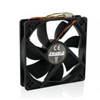 4World Ventilátor pre CPU/GPU/PC skrine 60x60x15mm, 3-pin, klzné ložisko 07280 cena od 0,00 €