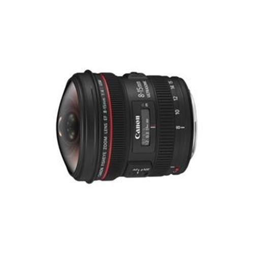 Canon EF 8-15mm F4 Fisheye USM