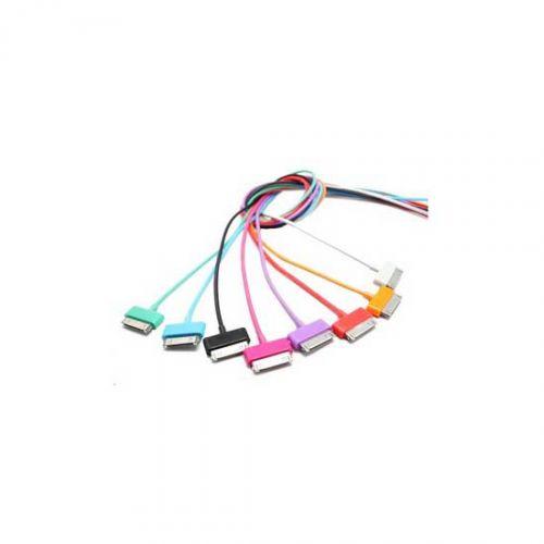 4World Kabel danych do iPhone/iPod/iPad 1.0m fioletowy cena od 0,00 €