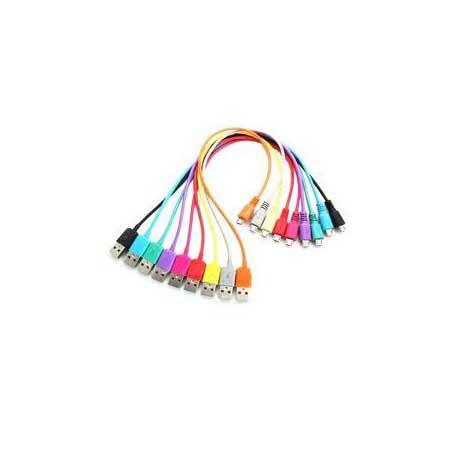 4World Kabel USB 2.0 MICRO 5pin, AM / B MICRO transfer/ładowanie 1.0m różowy cena od 0,00 €