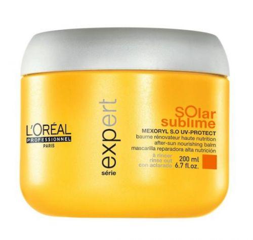 L´Oréal Professionnel Série Expert Solar Sublime Vyživující maska pro namáhané vlasy sluncem 200 ml