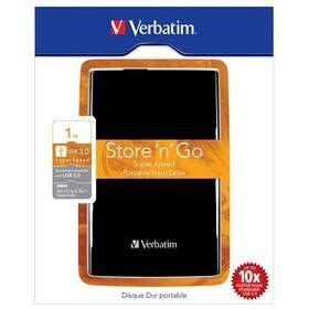 """HDD ext. 2,5"""" VERBATIM Store 'n' Go 1TB USB 3.0, Black cena od 49,90 €"""