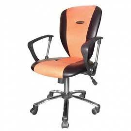 VETRO-PLUS Křeslo VTP 46WA2052OR kancelářské, Rabbit oranžová