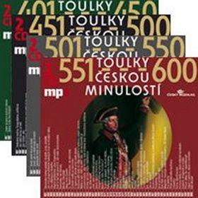 RADIOSERVIS Toulky českou minulostí komplet 401 - 600
