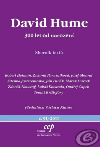 CEP David Hume - 300 let od narození - Kolektiv autorů cena od 0,00 €