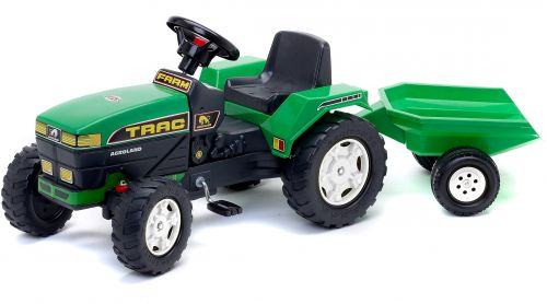 Falk Traktor šliapací s vlekom