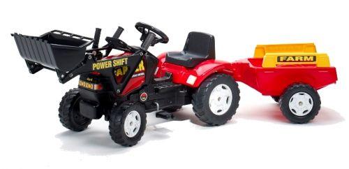 Falk Traktor šliapací nakladač s vlekom