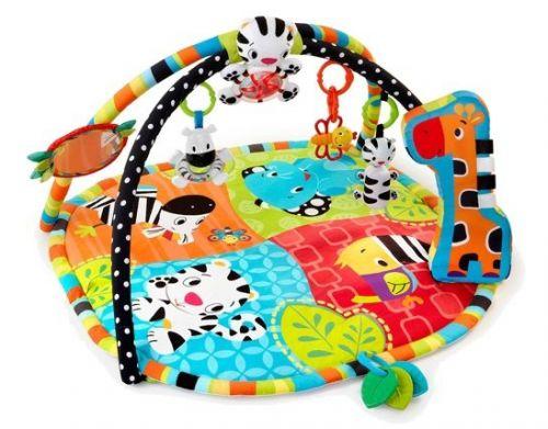 Bright Starts Deka podporujúca vývoj s hrazdou a hračkami