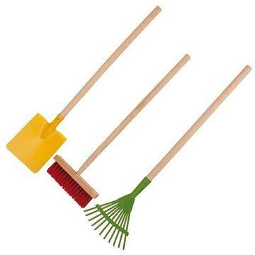 Woody Záhradné náčinie pre deti: švédske hrable, rýľ, metla