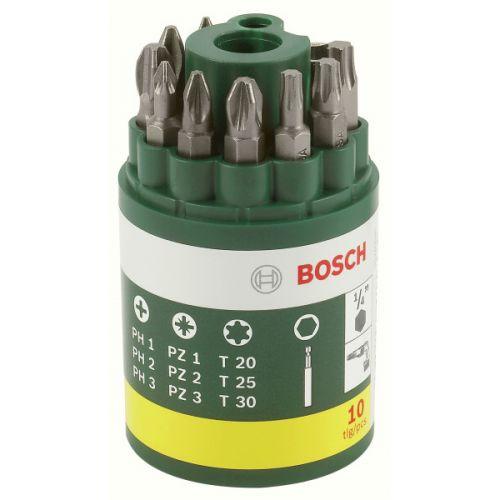 Bosch 10dílná šroubovacích bitů ..