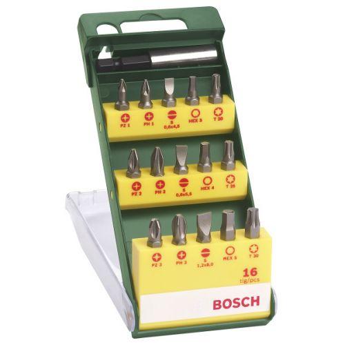 Bosch 16dílná šroubovacích bitů ..