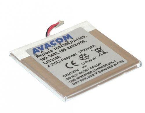 Avacom Baterie PalmOne Tungsten C/W/i705 Li-Pol 4,2V 1700mAh cena od 0,00 €