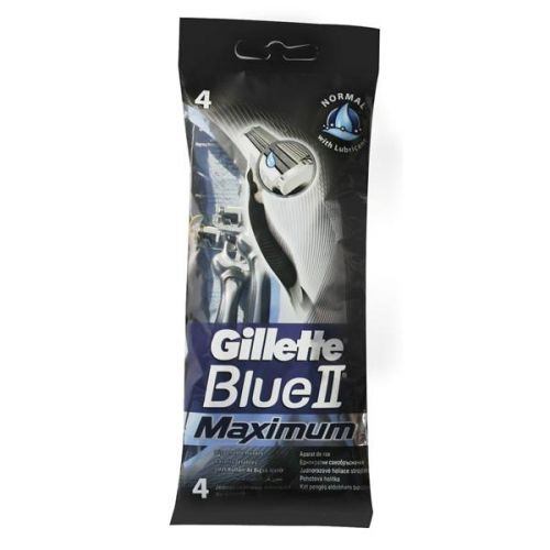 GILLETTE modrý II Excel Maximum 4ks cena od 0,00 €