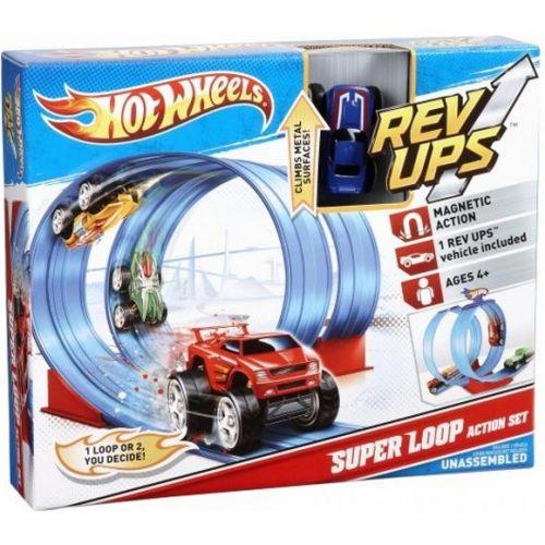 Mattel Hot Wheels Rev-ups hrací sada