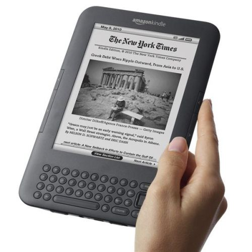 Čítačka kníh AMAZON Kindle 3, Wifi, 3G, BEZ REKLAM