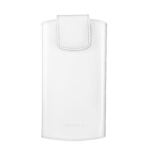 Puzdro na mobil Nokia CP-556 univerzální kožené (02729F3) biele cena od 0 7f30a62797b