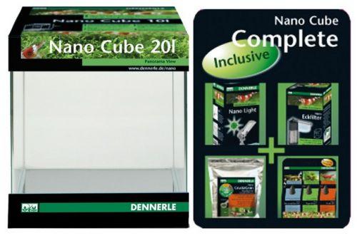 Dennerle Mini-akvárium NANO CUBE Complete 20L..