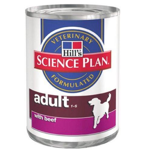 Hill´s Pet Nutrition Hills Canine konz. Adult Beef 370g cena od 0,00 €